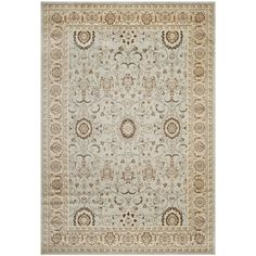 @Overstock - Safavieh Florenteen Grey/ Ivory Rug (6' x 9') - Safavieh's Florenteen collection is inspired by timeless traditional designs crafted with the softest polypropylene available.  http://www.overstock.com/Home-Garden/Safavieh-Florenteen-Grey-Ivory-Rug-6-x-9/9508871/product.html?CID=214117 $178.49
