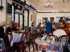 Artist Steve Bird  - The Rendezvous Café - www.stevebirdartist.co.uk Facebook: www.facebook.com/stevebirdartist Twitter: www.twitter.com/stevebirdartist Google+ : https://plus.google.com/+StevebirdartistCoUk/posts Pinterest: http://uk.pinterest.com/stevebirdartist/  @stevebirdartist #painter #artist #art #fineart #portrait #watercolour #British