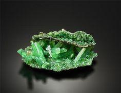 Gypsum Var. Selenite (rare green) Lubin Mine, Poland / Mineral Friends <3