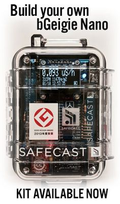 Safecast is a global project working to empower people with data, primarily by mapping radiation levels and building a sensor network, enabling people to both contribute and freely use the data collected.
