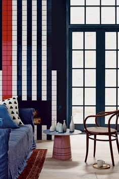 Tiles and Afghan Rugs - Living Room Design Ideas & Pictures - Decorating (houseandgarden.co.uk)
