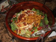 Chili's Honey-Lime Dressing Recipe - My all time favorite salad is Chili's Grilled chicken caribbean salad with honey lime dressing.   Our nearby Chili's took it off their menu,  but will still make it if you request it.   I think the secret to the flavor would be to marinate the chicken for a couple of hours in this dressing prior to grilling!