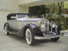 A 1926 Rolls Phantom- one of these days this well be in my dream home's garage.