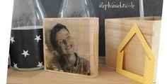 DIY déco - Transférer une photo sur du bois