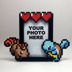 Hey, I found this really awesome Etsy listing at https://www.etsy.com/listing/219155655/custom-pokemon-picture-frame-couples