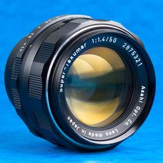 Pentax 50mm f1.4 Super Takumar Lens M42 DSLR Adaptable EOS BMCC