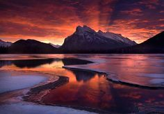 Mount Rundle, my favorite mountain in the Alberta Rockies