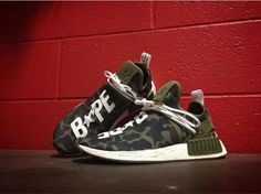 Rate these Bape NMD's 1-10  | @mache275 #customizerdepot