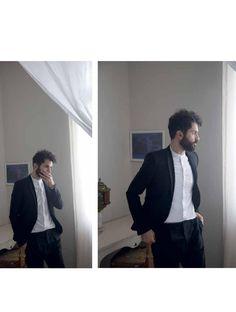 Male Fashion Trends: Ely Dagher para L'Officiel Hommes Levant Noviembre 2015