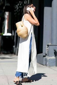 Designer and stylist Natasha Goldenberg. #nyfw #streetstyle