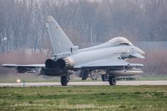 https://flic.kr/p/HY7Dwf | Frisian Flag 18 EHLW : German air force Typhoon 31+08 | TLG71  Challenging light conditions today...