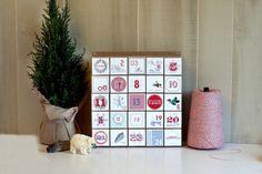 Advent Calendar / Vintage Style Decoration / by vintagemodernmix