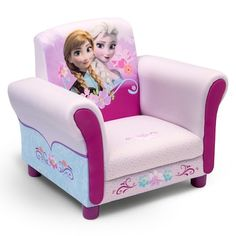 Disney's Frozen Upholstered Chair by Delta Children – rezeptebaby