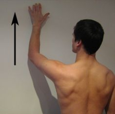 Shoulder Stretches - Wall Crawl