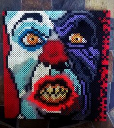 Perler Pennywise by GeneralHound pennywise, It, The, Dancing, Clown