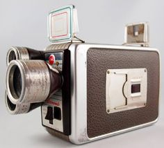 brownie camera, if they knew what modern videocameras look like...lol