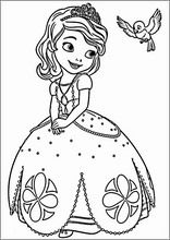 princess sofia the first coloring pages printable and coloring book to print for free. Find more coloring pages online for kids and adults of princess sofia the first coloring pages to print. Minion Coloring Pages, Barbie Coloring Pages, Disney Princess Coloring Pages, Disney Princess Colors, Mermaid Coloring Pages, Cute Coloring Pages, Coloring Books, Colouring, Sofia The First Cartoon