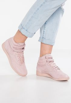 FREESTYLE - High-top trainers - shell pink Pink Reebok cb14710ee