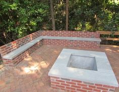 Brick Firepit Home Design Ideas, Pictures, Remodel and Decor
