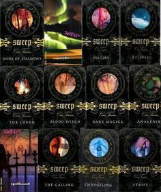 My favorite series of all time - Cate Tiernan's Sweep Series. Read them all 30+ times since 9th grade :) <3