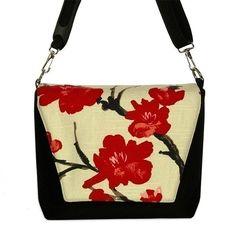 Digital SLR Camera Bag DSLR Camera Lens Bag - Asian Cherry Blossom - InStock $69.99