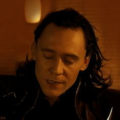 Loki gif. SEE!!! He's possessed as well. Ugh. When he cries as he has to stab his brother...