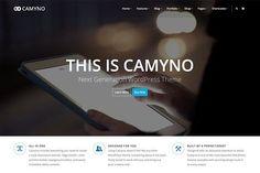 Camyno - Premium WordPress Theme by Themefyre on @creativemarket