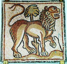 Lion on mosaic - san marco - venice, italy - Pax Tibi Marce Evangelista Meus II - Daisuke Ido Byzantine mosaic gold lion - Palazzo dei Normanni, Palermo - Sicilia - ari kokomosaico Byzanatine mosai...