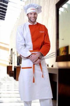 Uniformes para restaurante,cafeteria, chef, barman, dotacion en ...