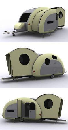 future camper, trailer, pop-out, hybrid RV