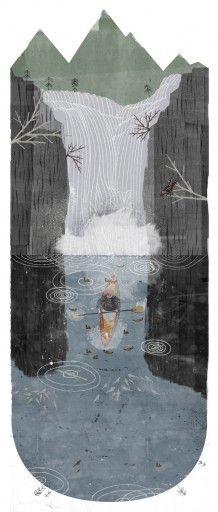 Illustrator Jon Klassen. The Falls