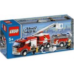 LEGO City Brandweerwagen met aanhanger - 7239