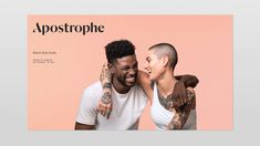 Brand New: New Name, Logo, and Identity for Apostrophe by Character Girl Empowerment, Brand Style Guide, Brand Book, Name Logo, Design Language, New Names, Brand Guidelines, Fashion Branding, Brand Identity