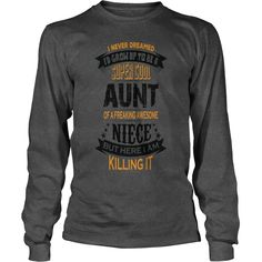 Super Cool Aunt Of A Freaking Awesome Niece T-Shirts 1  #gift #ideas #Popular #Everything #Videos #Shop #Animals #pets #Architecture #Art #Cars #motorcycles #Celebrities #DIY #crafts #Design #Education #Entertainment #Food #drink #Gardening #Geek #Hair #beauty #Health #fitness #History #Holidays #events #Home decor #Humor #Illustrations #posters #Kids #parenting #Men #Outdoors #Photography #Products #Quotes #Science #nature #Sports #Tattoos #Technology #Travel #Weddings #Women