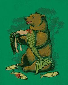 Pop Culture – 32 nouvelles illustrations drôles et décalées de Ben Chen