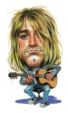 Kurt Cobain Painting