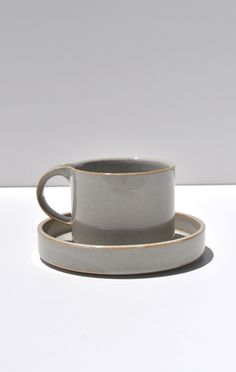 MODERATO CUP AND SAUCER