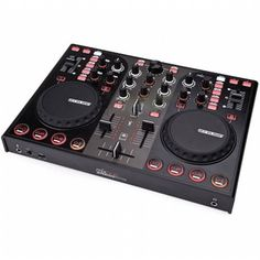 Reloop Mixage Interface Edition MK2 USB DJ Controller (black) at Juno Records