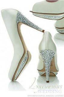 Harriet Wilde Luxurious Wedding Style Report: Jewelled Bridal Shoes