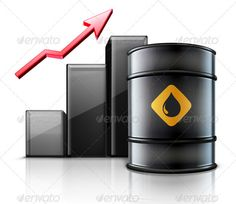 Oil Price Concept  #GraphicRiver         Vector illustration of black metal oil barrel with finance graph and a red arrow showing an increase of gasoline consumption or rise in a cost of oil.   Zip file contains fully editable EPS10 vector file and high resolution RGB Jpeg image.     Created: 8December12 GraphicsFilesIncluded: JPGImage #VectorEPS Layered: No MinimumAdobeCSVersion: CS Tags: arrow #barrel #black #container #currency #drop #drum #energy #finance #fossil #fuel #gas #gasoline…