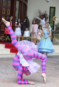 ALICE IN WONDERLAND THEMED ENTERTAINMENT CHESHIRE CAT CONTORTIONIST AND ALICE SPECTACULAR CONTORTIONISTS TO HIRE ACROSS THE UK http://www.calmerkarma.org.uk/contortion+acrobalance.htm Tel:  020 3602 9540