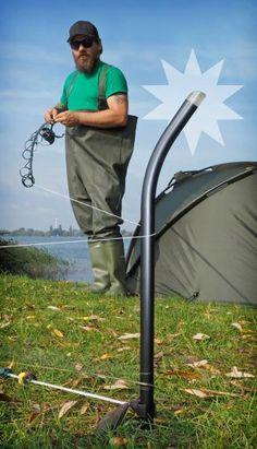 Distance Sticks beim Karpfenangeln | Distance sticks at carp fishing