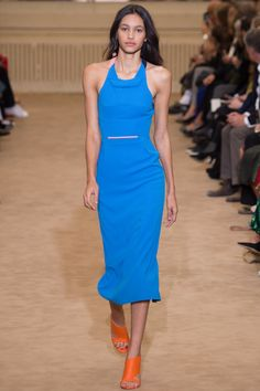 Roland Mouret Spring 2016 Ready-to-Wear Fashion Show - Hanne Linhares