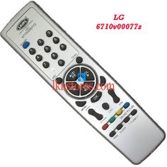 Buy remote suitable for LG Tv Model: 6710V00077Z at lowest price at LKNstores.com. Online's Prestigious buyers store.