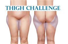 Looking for the new challenge in shaping your body, you decided to slim the thighs, which is not an easy area to target. Here is a workout that is created to focus on this area, consisted of 5 proven exercises, and you'll spend only 10 minutes daily to do. The challenge is for 30 days. We recommend you to start slowly and build your strength as you master each move on the way to your goal of slimming down.