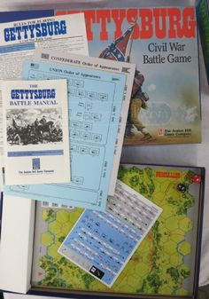 Gettysburg game by Avalon Hill