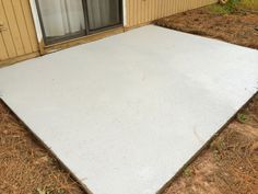 How I Made My Patio Look New Again with Olympic Rescue It! Cleaning Concrete Patios, Concrete Slab Patio, Clean Concrete, Patio Flooring, Concrete Floors, Concrete Resurfacing, Painting Concrete, Patio Makeover, Home Repairs
