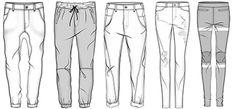 croqui jeans masculino - Pesquisa Google