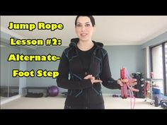 Did you master the Bounce Step From the Previous Video? Now you are ready to learn Buddy Lee's technique for the Alternate-Foot Step. Get my rope at h. Buddy Lee Jump Rope, At Home Workouts, Body Workouts, Martial Arts Training, Tone It Up, Fitness Inspiration, Cardio, Things That Bounce, Bodybuilding
