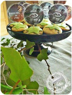 """Toppers halo theme Table anniversaire """"halo"""""""